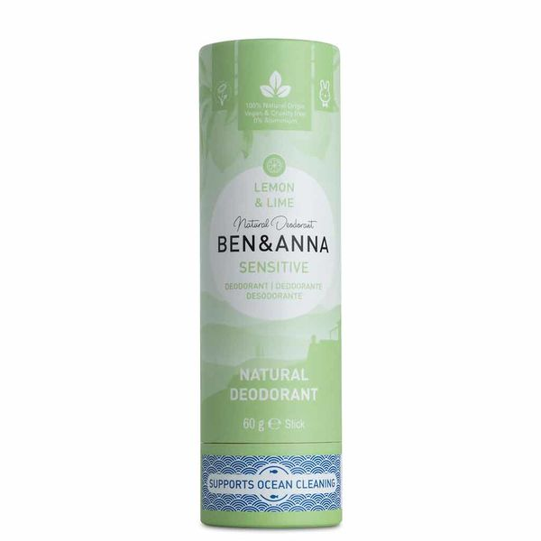 Ben&Anna Deodorantti Sensitive Lemon & Lime